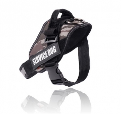 Dog Harness Reflective nylon camouflage